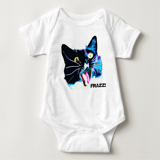 FRAZZ! Cat Infant Creeper