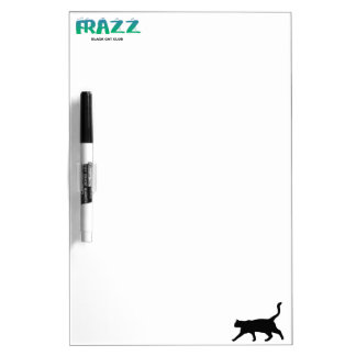Frazz! Playing Black Cat Dry Erase Board