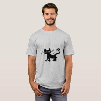 Frazzle Cat Men's Basic T-Shirt