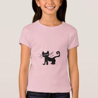 Frazzle Kitty Girls T-Shirt