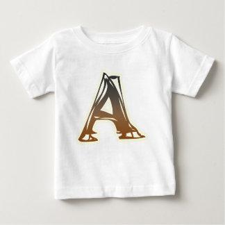 FRAZZLE MONOGRAM A BABY T-Shirt