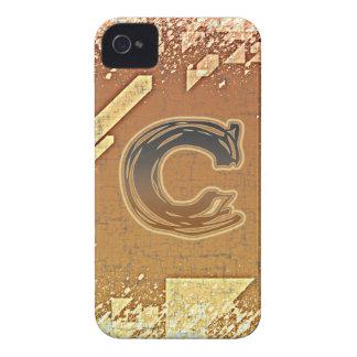 FRAZZLE MONOGRAM C iPhone 4 Case-Mate CASE