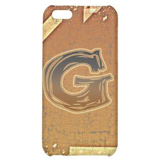 FRAZZLE MONOGRAM G CASE FOR iPhone 5C
