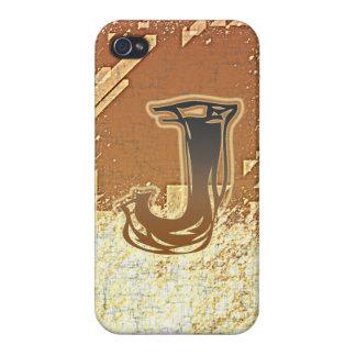 FRAZZLE MONOGRAM J iPhone 4/4S CASES