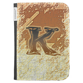 FRAZZLE MONOGRAM K KINDLE COVERS