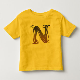 FRAZZLE MONOGRAM N TODDLER T-Shirt