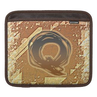 FRAZZLE MONOGRAM Q iPad SLEEVES