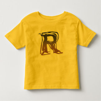 FRAZZLE MONOGRAM R TODDLER T-Shirt