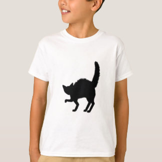 Frazzled Black Cat T-Shirt