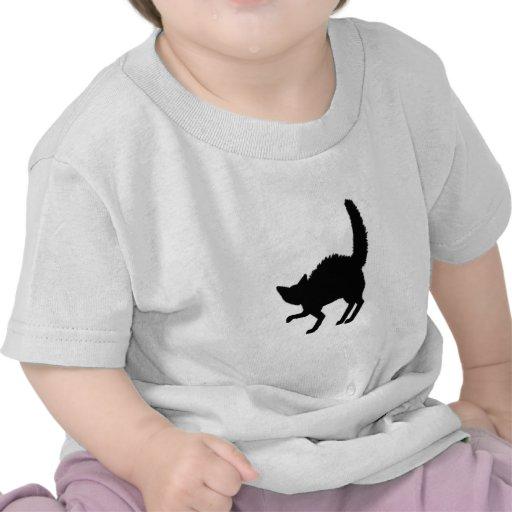 Frazzled Black Cat Shirt