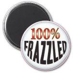 Frazzled Tag 6 Cm Round Magnet