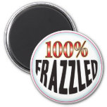 Frazzled Tag Refrigerator Magnet