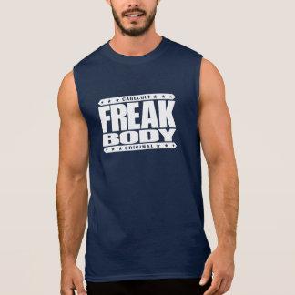 FREAK BODY - Beast Mode: Superhuman Fitness Level Sleeveless Tees