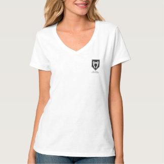Freak Circle Press V-Neck With Dark Logo T-Shirt