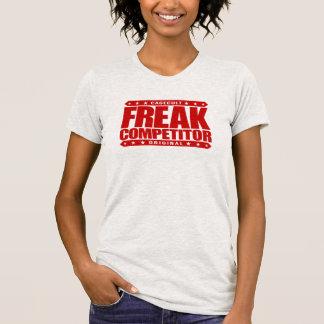 FREAK COMPETITOR - Beast Mode: Superhuman Fighter T-shirt