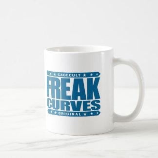 FREAK CURVES - Watch Out: Fierce Bootylicious Diva Basic White Mug