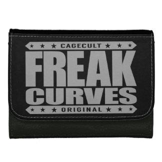 FREAK CURVES - Watch Out: Fierce Bootylicious Diva Leather Wallet For Women