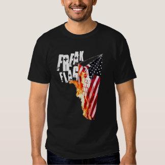 Freak Flag Burning T-Shirt