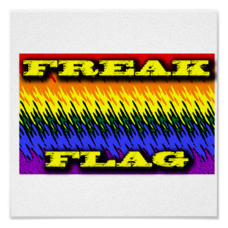 Freak Flag Poster