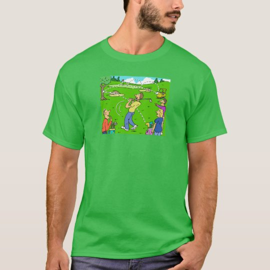 Freak Golf Shot Rebounds T-Shirt