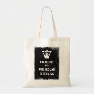 Freak Out and Run Around Screaming Canvas Bags