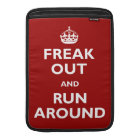 Freak Out and Run Around Sleeve For MacBook Air