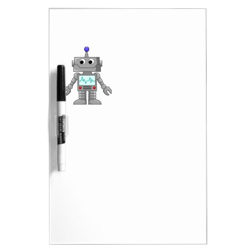 Freak robot Dry-Erase board