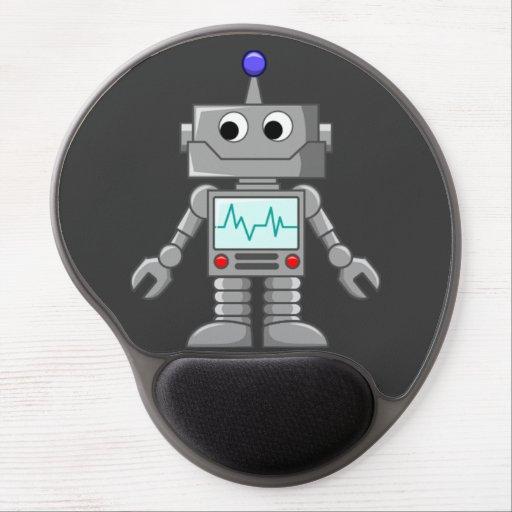 Freak robot gel mouse mat