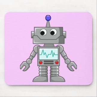 Freak robot mousepad