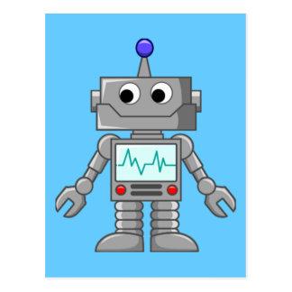 Freak robot postcard