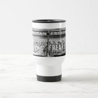 Freak Show, 1940s Stainless Steel Travel Mug