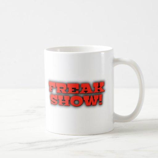 Freak Show Mugs