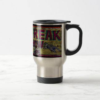Freak Show Vintage Banner Stainless Steel Travel Mug