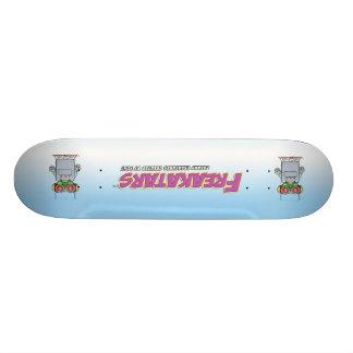 Freaky Cruiser double vision! Skate Board Deck