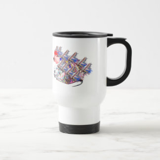 Freaky Frank Stainless Steel Travel Mug