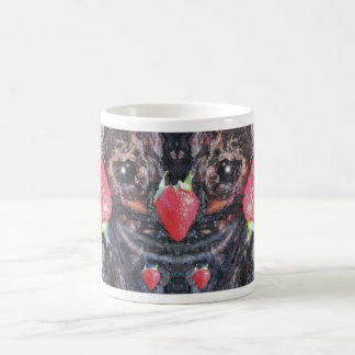 Freaky Strawberries Tree Bark Face Mug