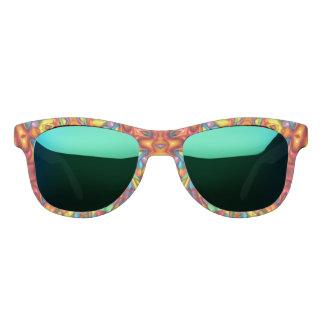 Freaky Tiki Kaleidoscope  Custom Sunglasses