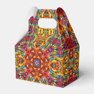 Freaky Tiki Kaleidoscope  Gable Favor Box