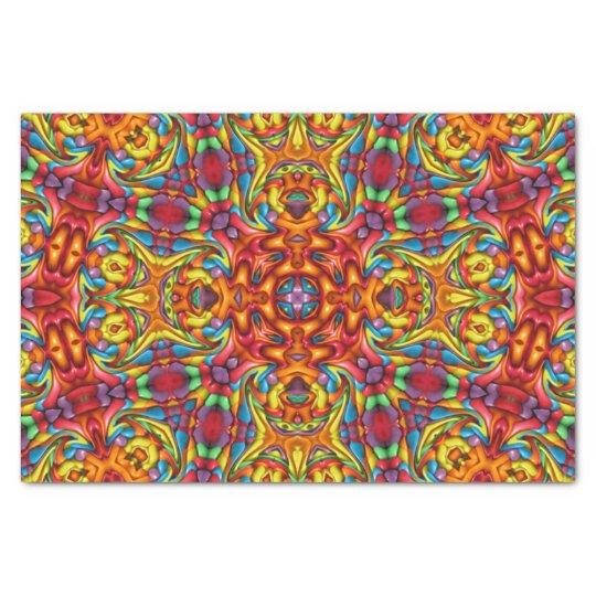 Freaky Tiki Kaleidoscope Tissue Paper