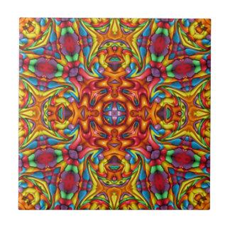 Freaky Tiki Pattern     Ceramic Tiles, 2 sizes Tile