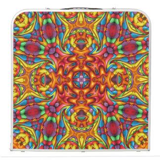 """Freaky Tiki Vintage Kaleidoscope   48""""  Pong Table"""