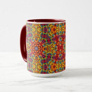 Freaky Tiki Vintage Kaleidoscope Combo Mug