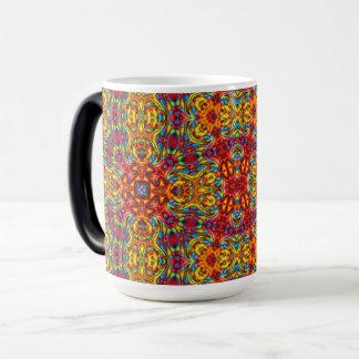 Freaky Tiki Vintage Kaleidoscope Morphing Mug