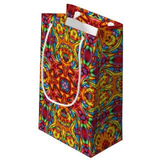 Freaky Tiki Vintage Kaleidoscope Small Gift Bag