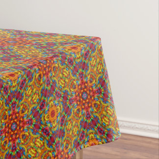 Freaky Tiki Vintage Kaleidoscope   Tablecloth
