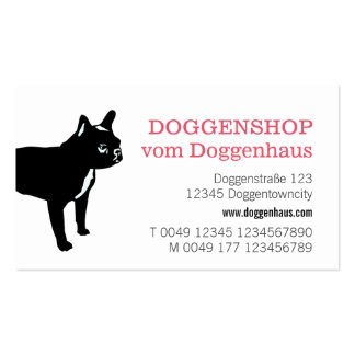 Freches Frenchie Muster Pack Of Standard Business Cards