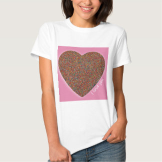 Freckle Heart 'I Love You'! T Shirts