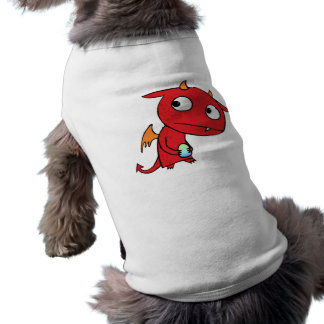 Freckled Demon Sleeveless Dog Shirt