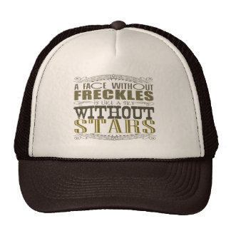 Freckles Are Beautiful Trucker Hat