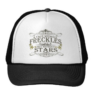 Freckles are Cute Trucker Hat